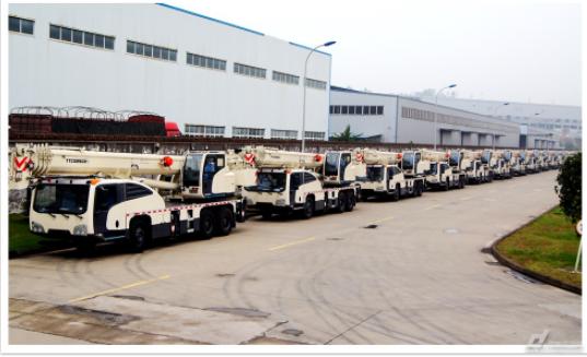 国机重工起重机产品批量出口中亚