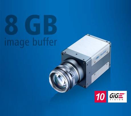 堡盟新款QX系列万兆网接口相机