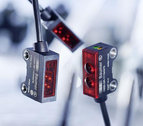 堡盟最新O200系列微型光电传感器