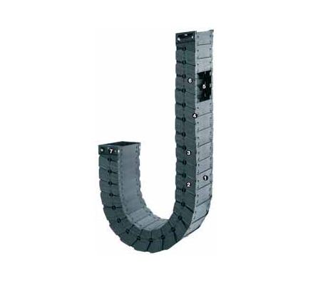 igus R6.29系列 - 拖管,盖板可沿两侧拆卸移除