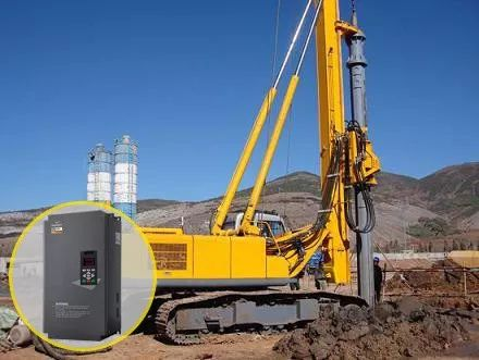 基于四方E580变频器的钻桩机解决方案