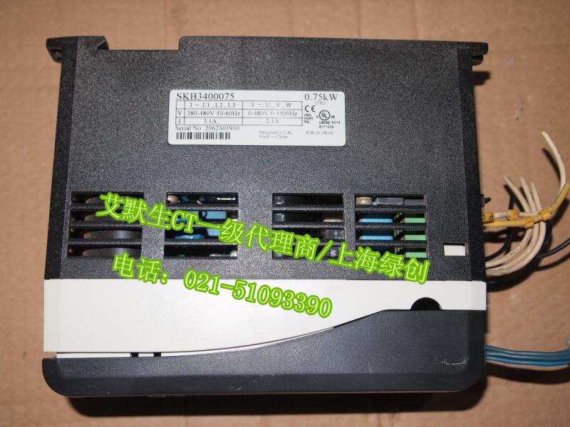 尼得科CT变频器停产机SKB3400075可询升级型号