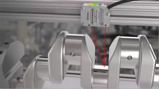 大写的服!丨LM150激光测量传感器曲轴测量应用及解决方案