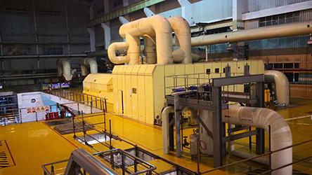 英威腾:?#34987;?#22823;型火力发电项目交钥匙工程现场