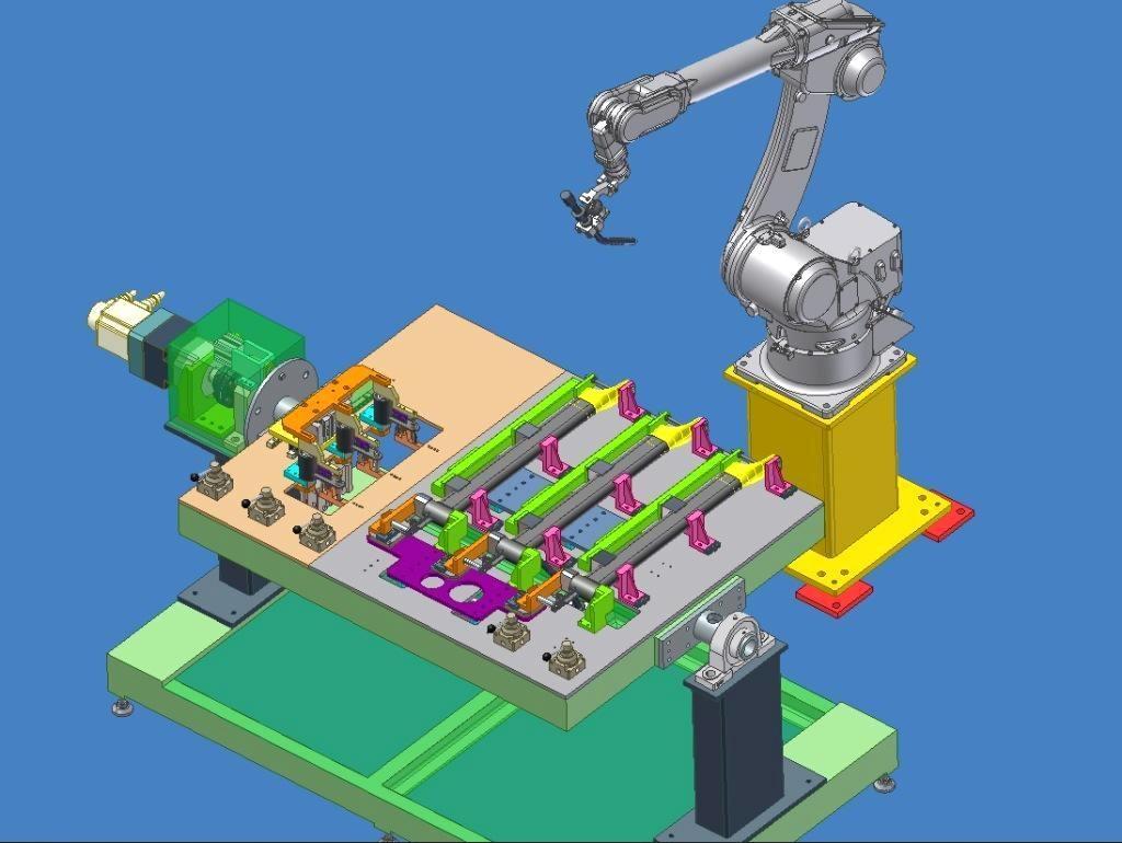 焊接机器人在汽车行业中的应用与发展