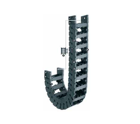 igus E6.35系列拖链