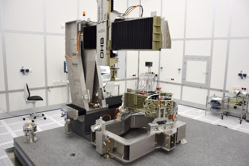 海德汉直线光栅尺在微米级高精度卫星定位中的应用