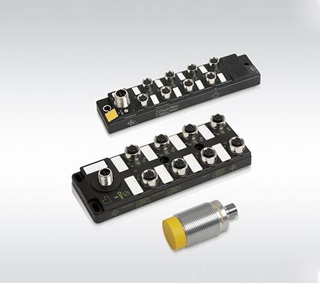 图尔克带IO-LINK接口的集线器和RFID读写器