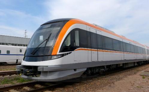 新型轨道交通装备:国产首个市域动车组在温州轨道交通S1线上线运营