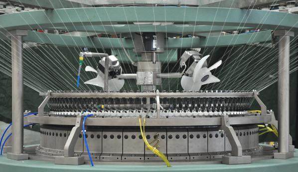 立圣丰推出针织大圆机智能化国际领先制造方案,引领针织机械数字化