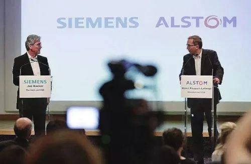 """西门子与阿尔斯通150亿欧元的合并被?#23433;?#21049;车"""""""