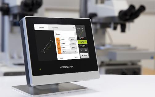 海德汉QUADRA-CHEK 2000信号处理装置:轻松且可靠地测量