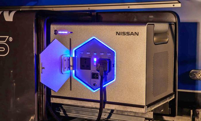 日产推出Roam设备,利用电动汽车旧电池为露营车提供便携式电源