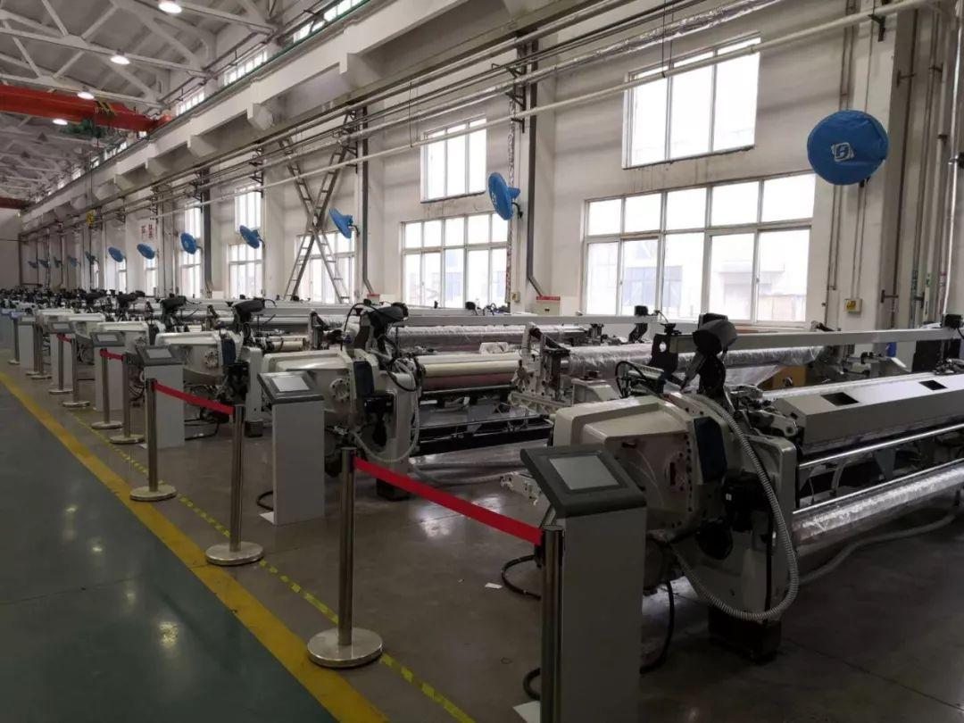 郑纺机G1739型高速宽幅剑杆纺织机成功打入印度市场