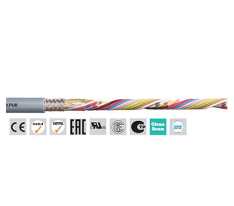 igus chainflex? CF240.PUR 高柔性数据电缆