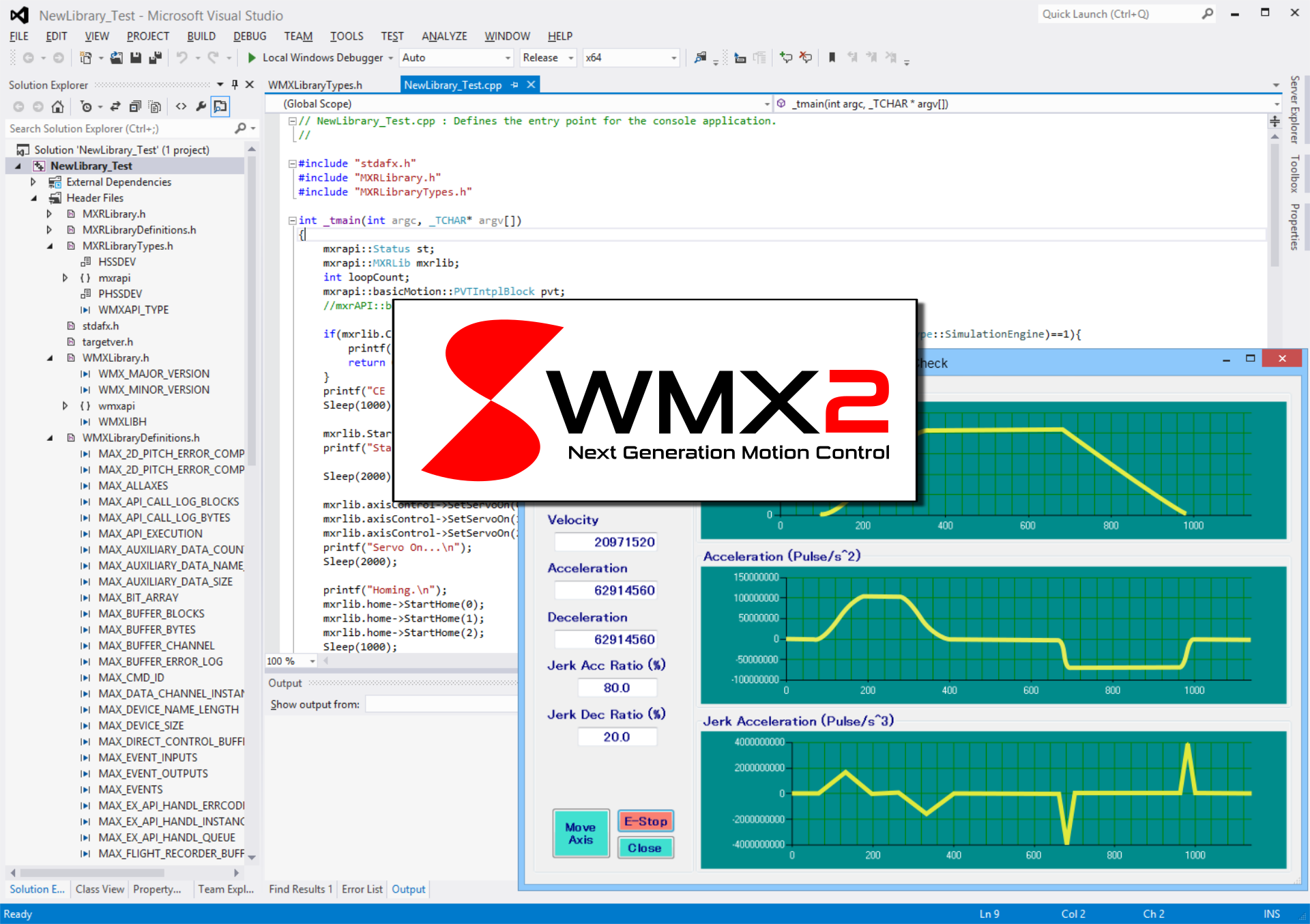 软赢 WMX2 通用运动控制系统