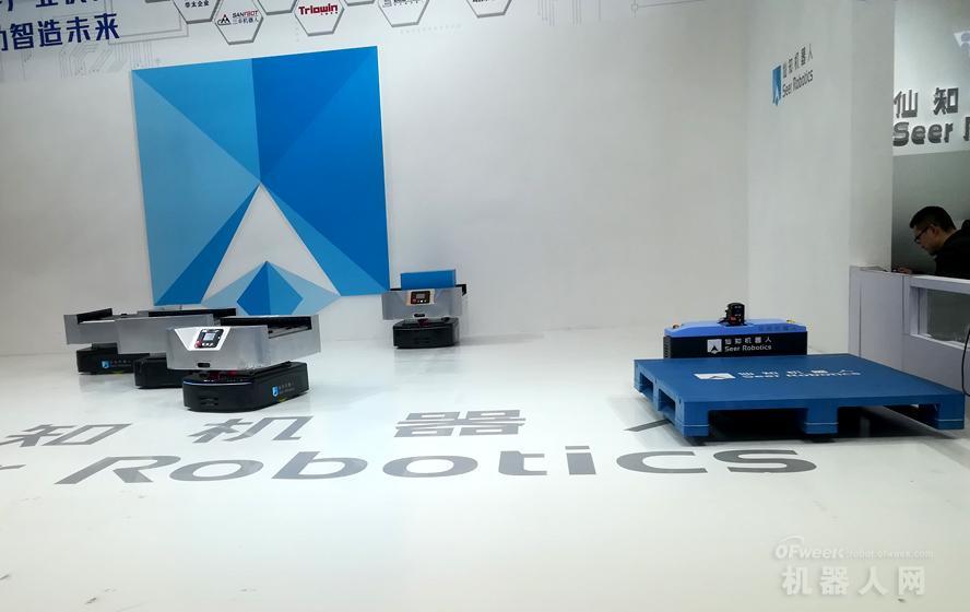 直击慕尼黑电子展,谁家AGV移动机器人最抢眼?