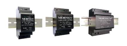 金升阳30-100W 超小体积 阶梯型 AC/DC导轨电源 LIxx-20BxxPR2系列