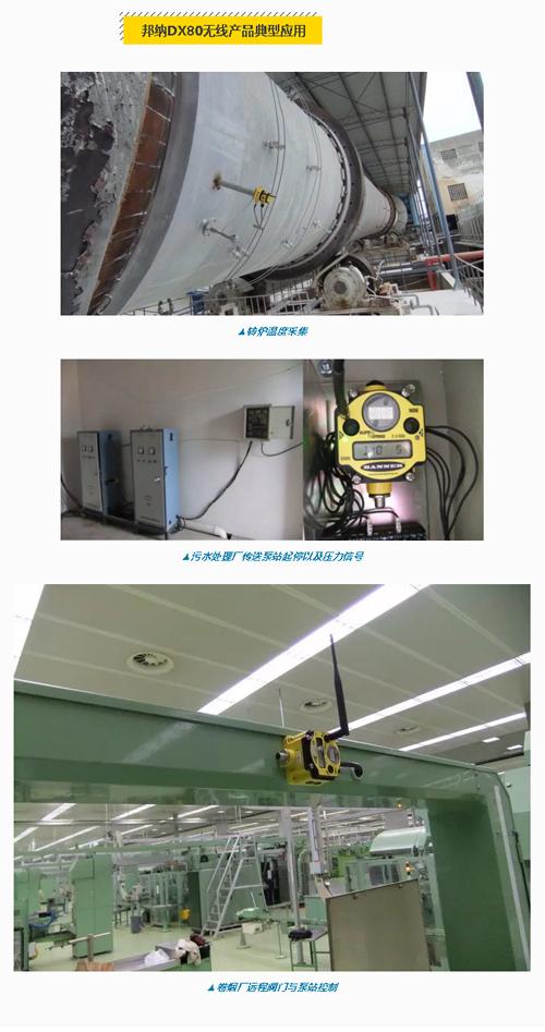 邦纳DX80无线产品在远程信号采集与控制中的应用