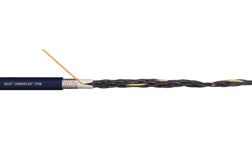 易格斯chainflex® CF10 高柔性控制电缆