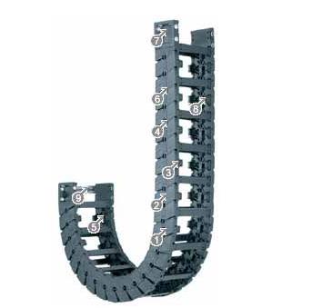 易格斯E6.80L系列拖链,按每两个链节安装横杆