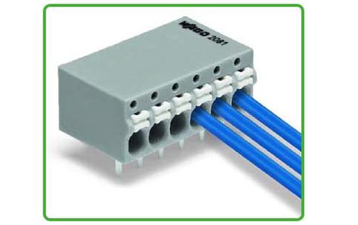 WAGO 2081系列PCB端子