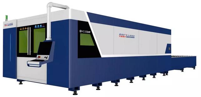 大族激光20KW超高功率光纤激光切割机全球震撼首发