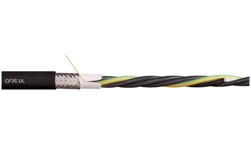 易格斯chainflex? 高柔性电动机电缆CF35.UL