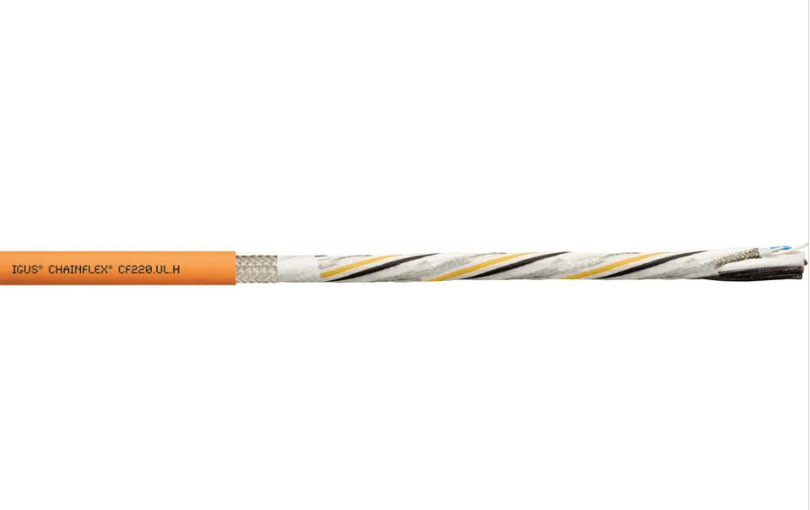 易格斯chainflex? 高柔性混合伺服电缆 CF220.UL.H