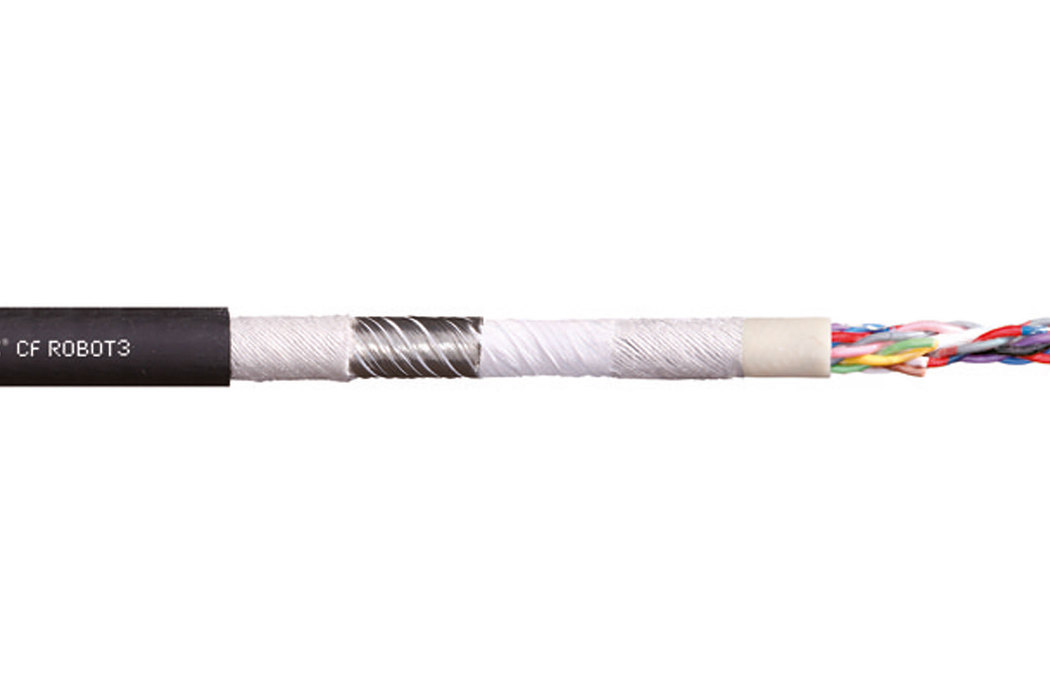 易格斯chainflex® 高柔性数据电缆CFROBOT3