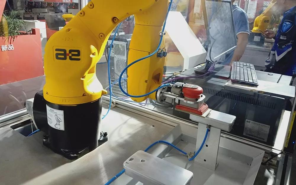 人靠衣装,机靠抛光,且看配天机器人的打磨工艺!