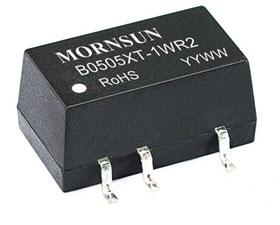 Mornsun发布革命性的微功率电源产品——-B-XT-1WR2