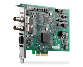 凌华科技发布首款双通道3G/HD/SD-SDI高画质图像采集卡PCIe-2602