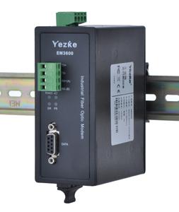 业之科电子  EM3600工业RS232/422/485数据光端机