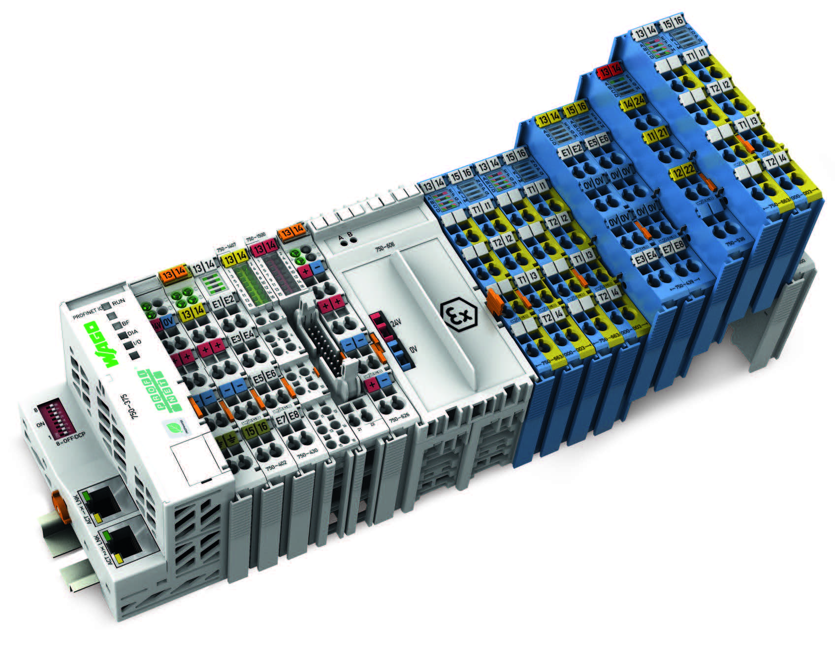 WAGO-I/O-SYSTEM新增本质安全型