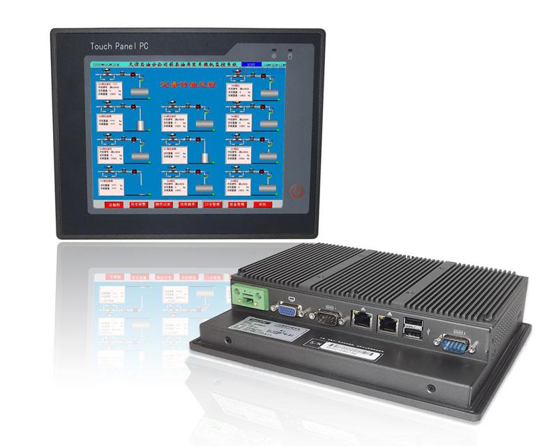 枭杰科技8寸超薄无风扇工业平板电脑PPC-P080-N26-R10