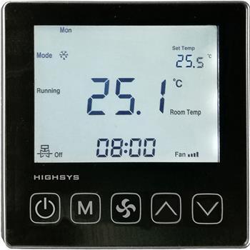 液晶房間溫控器