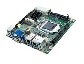 研华Mini-ITX AIMB-205支持第六代&第七代Intel® Core处理器荣耀上市 专为自助服务应用而打造