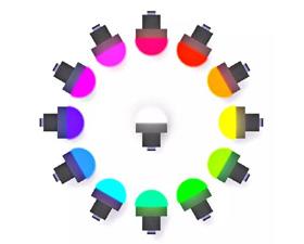 邦纳可编程K50L2RGB/K30L2RGB指示灯