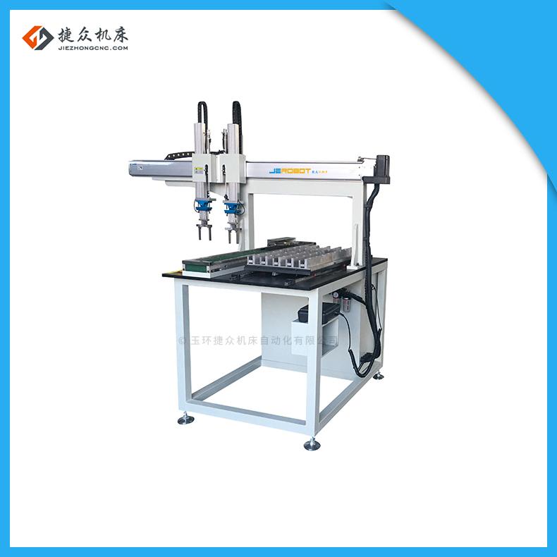高精密无心磨床工业机器人机械手自动送料机捷众机床自动化设备