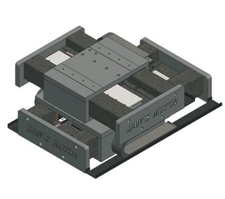 大族 LMSU 8207 十字型气浮直线电机权力完全平台