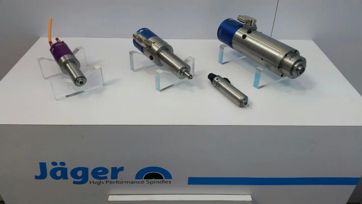 雕銑磨削數控機床CNC高速電主軸德國jager