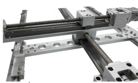 耐高低温真空直线丝杆模组滑台 真空线性导轨模组滑台