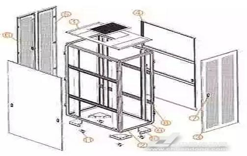低压电器行业中通用机柜的制作