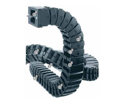 igus E333.32系列拖链适用于3维运动